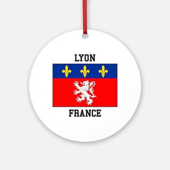 Lyon, France Ornament (Round)