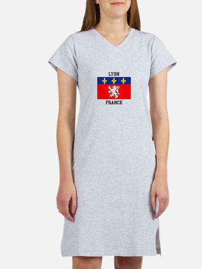 Lyon, France Women's Nightshirt