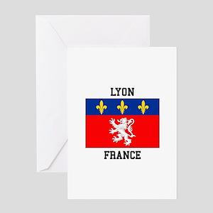 Lyon, France Greeting Cards