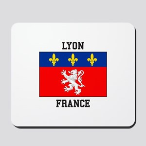 Lyon, France Mousepad