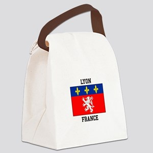 Lyon, France Canvas Lunch Bag