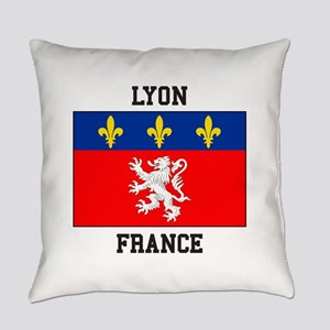 Lyon, France Everyday Pillow