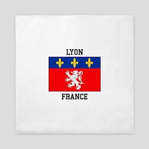 Lyon, France Queen Duvet