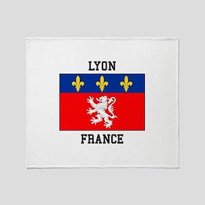 Lyon, France Throw Blanket