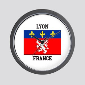 Lyon, France Wall Clock
