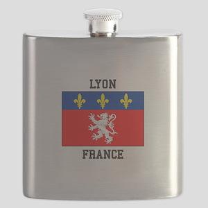 Lyon, France Flask