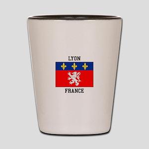 Lyon, France Shot Glass