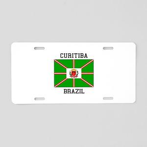 Curitiba Brazil Aluminum License Plate