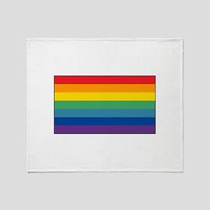 Cusco, Peru Flag Throw Blanket
