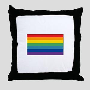 Cusco, Peru Flag Throw Pillow