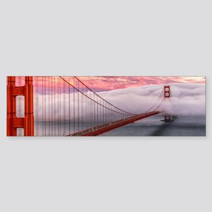 Golden Gate Bridge Bumper Sticker