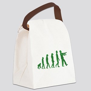 Zombie Evolution Canvas Lunch Bag