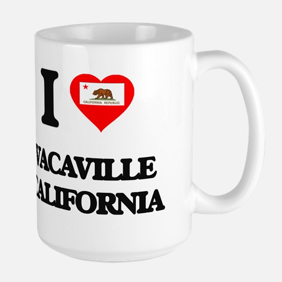 I love Vacaville California Mugs