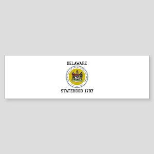 Delaware Statehood Bumper Sticker