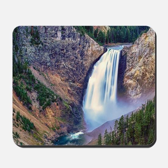 Lower Falls Yellowstone Mousepad