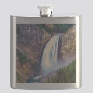 Lower Falls Yellowstone Flask