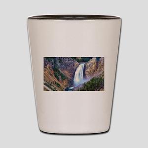 Lower Falls Yellowstone Shot Glass