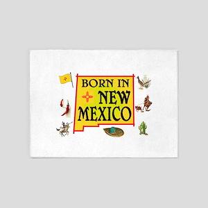 NEW MEXICO BORN 5'x7'Area Rug