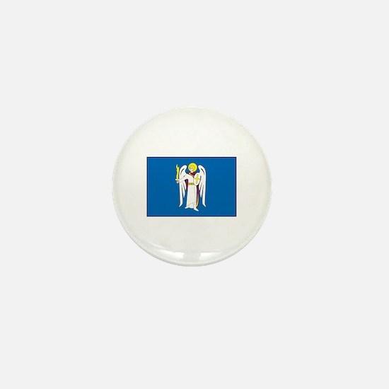 Kiev Ukraine Flag Mini Button