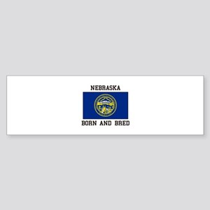 Nebraska Flag Bumper Sticker