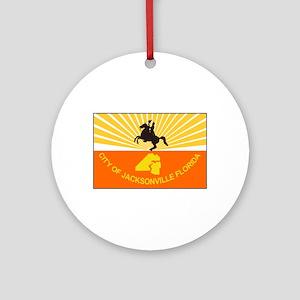 Jacksonville Florida Ornament (Round)