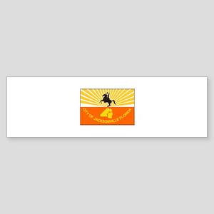 Jacksonville Florida Bumper Sticker