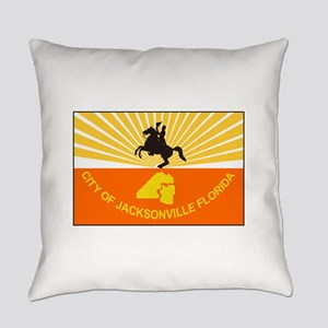 Jacksonville Florida Everyday Pillow
