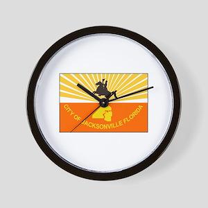Jacksonville Florida Wall Clock