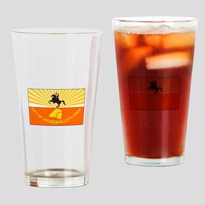 Jacksonville Florida Drinking Glass