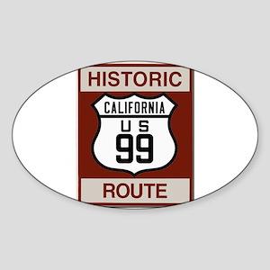 Highway 99 California Sticker