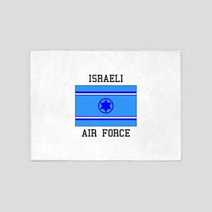 Israeli Air Force 5'x7'Area Rug