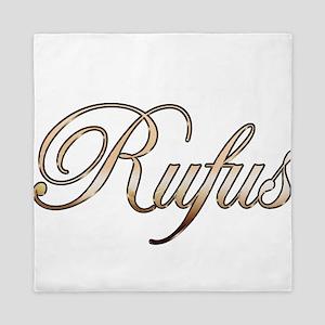 Gold Rufus Queen Duvet