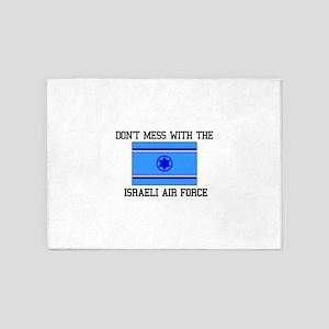 Israeli Air Force Flag 5'x7'Area Rug