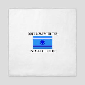 Israeli Air Force Flag Queen Duvet