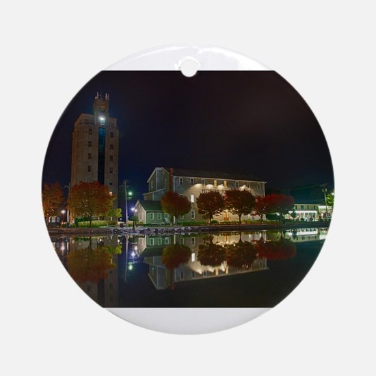 Schoen Place. Pittsford, NY Ornament (Round)