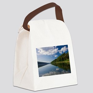 A Perfect Summer Day Canvas Lunch Bag