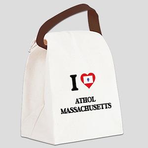 I love Athol Massachusetts Canvas Lunch Bag