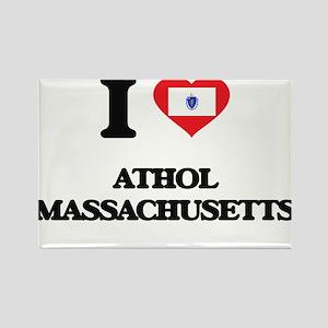 I love Athol Massachusetts Magnets