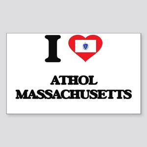 I love Athol Massachusetts Sticker