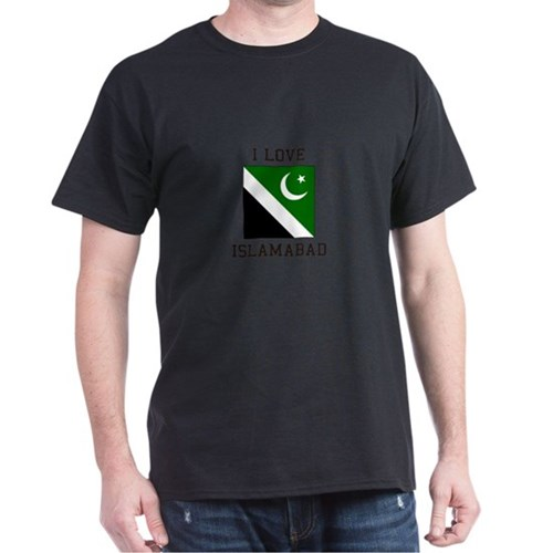 Islambad, Pakistan Flag T-Shirt
