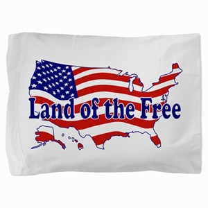 Land of the Free Pillow Sham