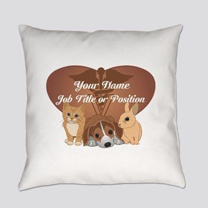 Personalized Veterinary Everyday Pillow