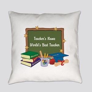 Custom Teacher Everyday Pillow