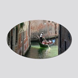 VENICE GIFT STORE 20x12 Oval Wall Decal
