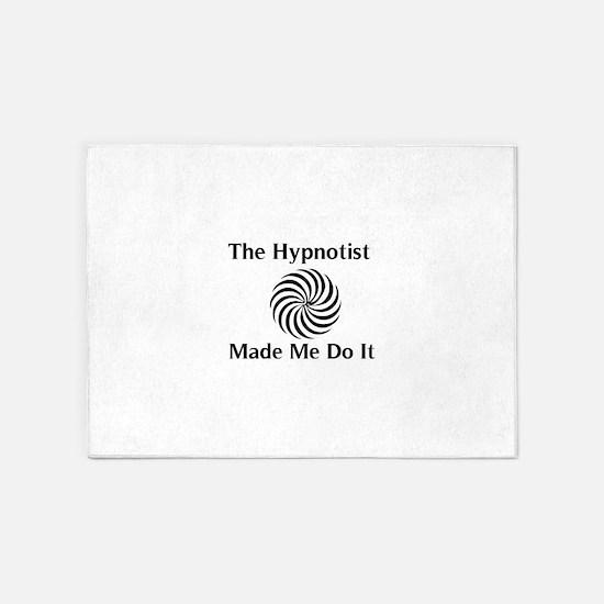 The Hypnotist Made Me Do It 5'x7'Area Rug