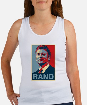 Rand Poster Tank Top