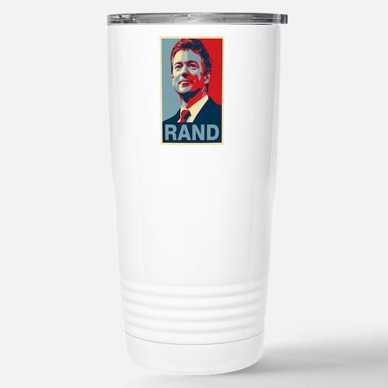 Rand Poster Travel Mug