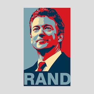 Rand Poster Sticker