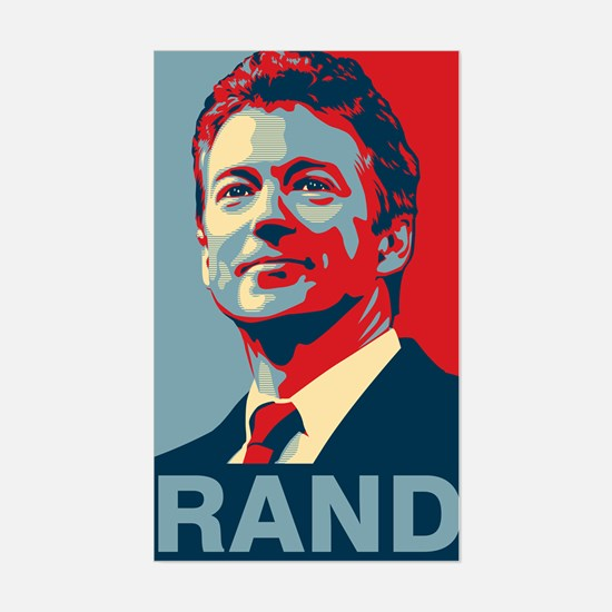 Rand Poster Decal