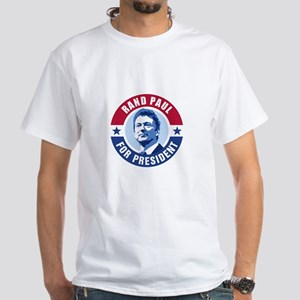 Rand Paul Retro White T-Shirt